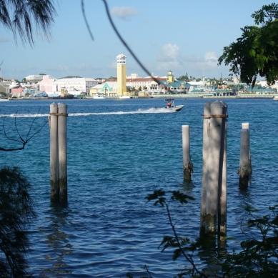 Nassau from paradise Island