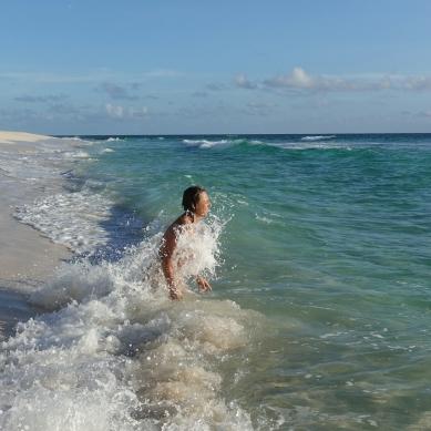 Surfers beach, Eleuthera, Bahamas