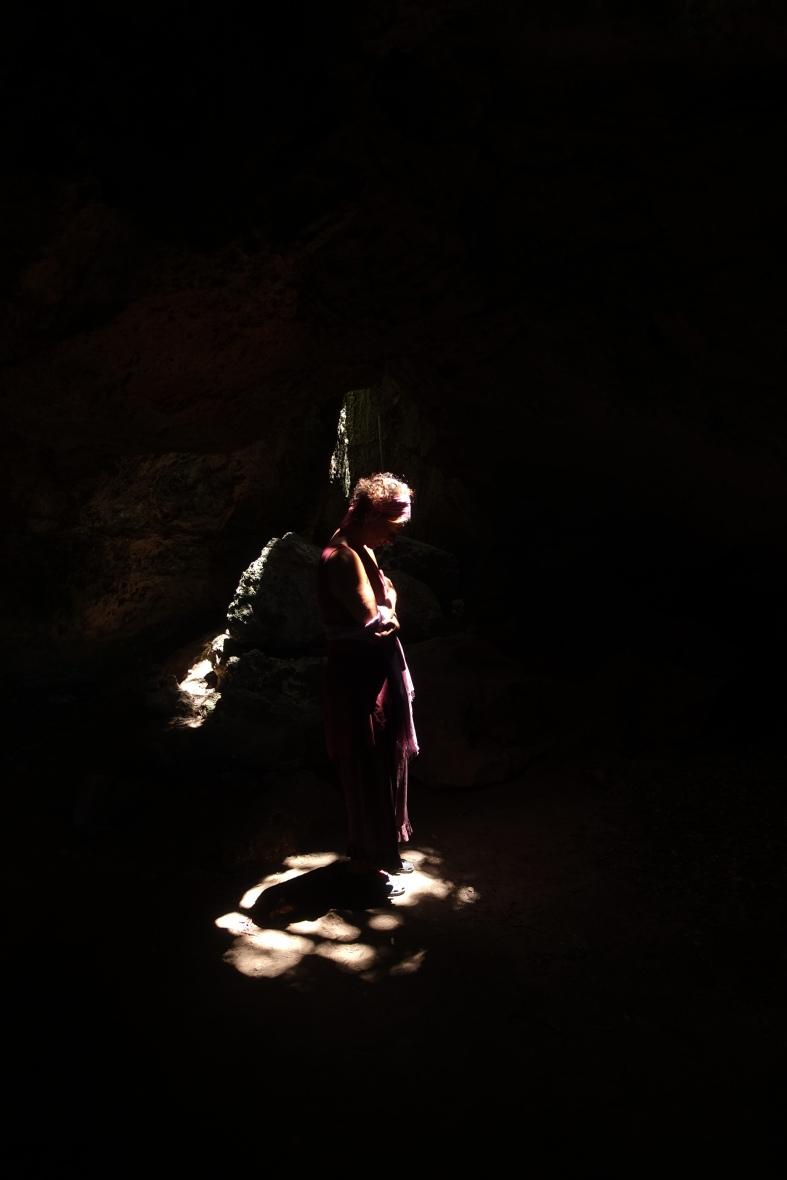 Preachers cave, North Eleuthera, Bahamas