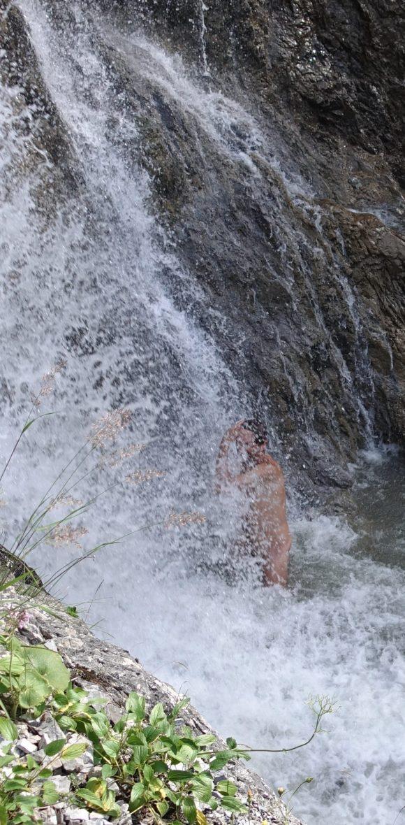 Waterfall, Steeg, Austria