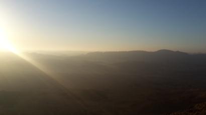 Maktesh Ramon crater near Mitzpe Ramon, Israel