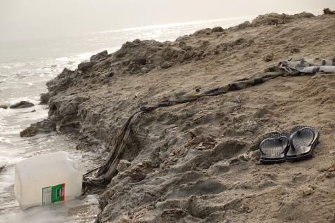 Metzukei Dragot beach, Dead Sea, Israel