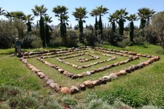 Hellers garden, Marrakech