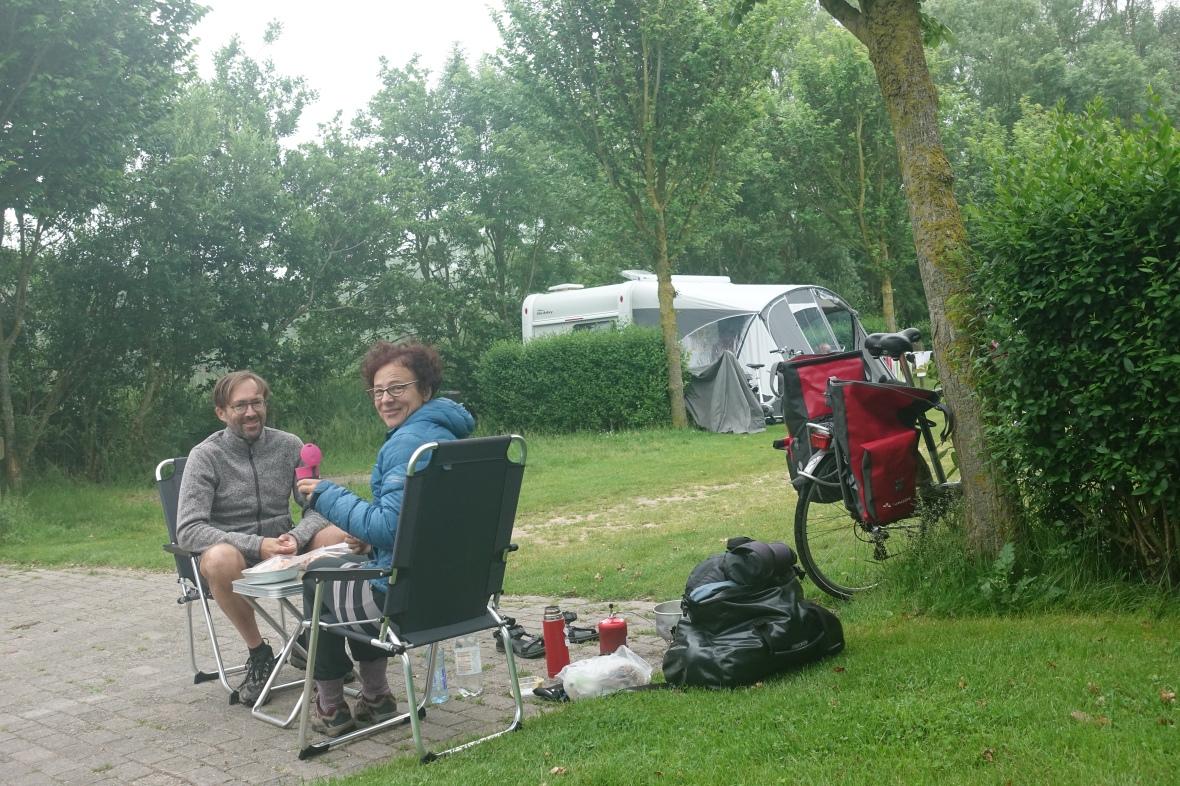 Roompot camping Dishoek, Nederland