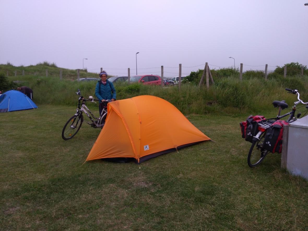 Camping Zuidduinen, Katwijk aan Zee, Nederland