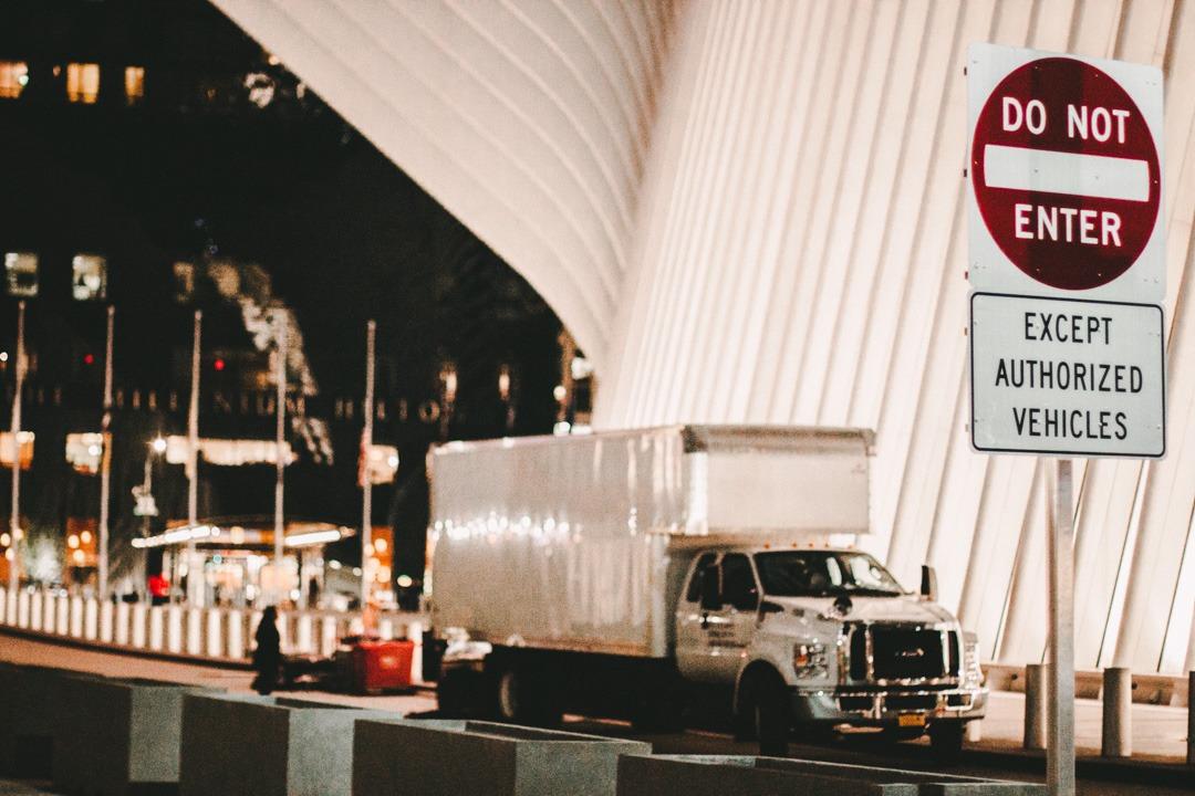 9/11 memorial entrance hall, NYC, USA