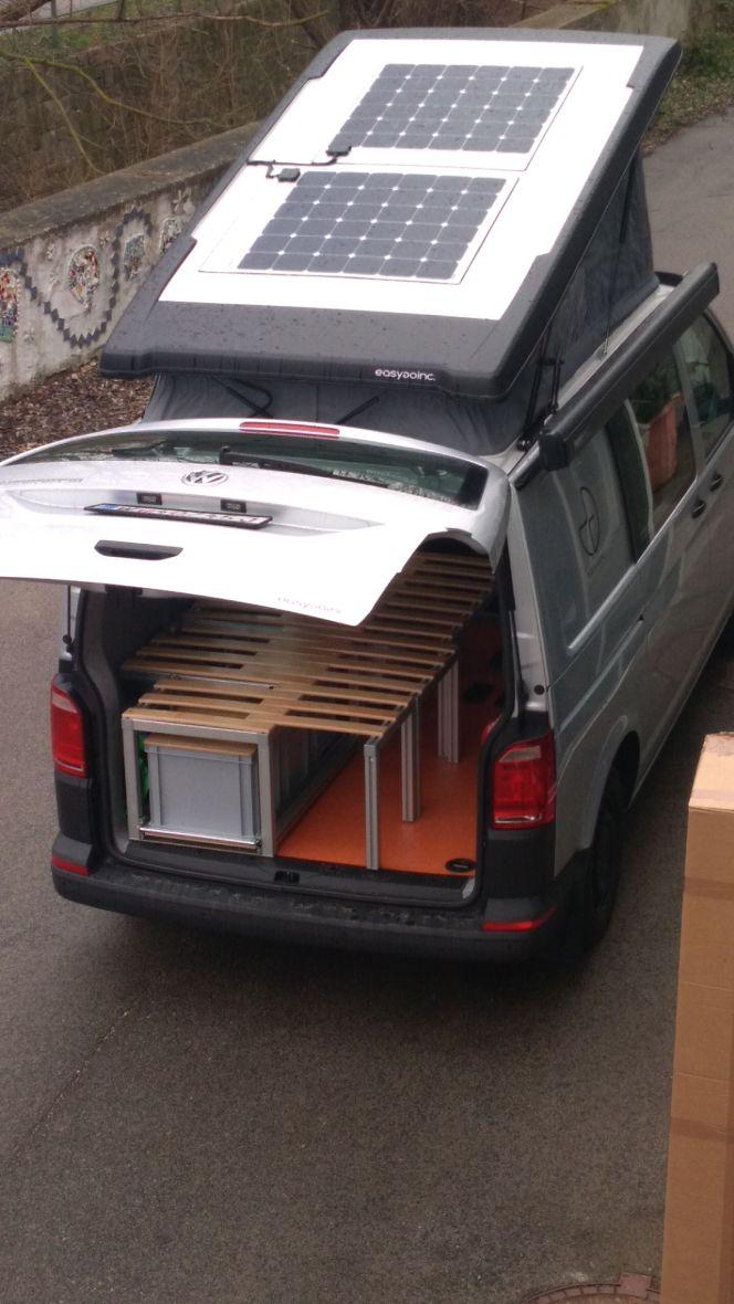 Our VW campervan